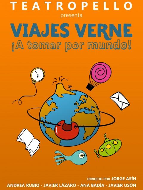 Cartel Viajes Verne